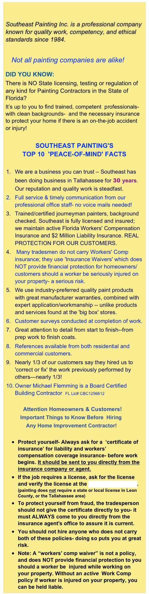 Sepaint about us for Michaels crafts job application